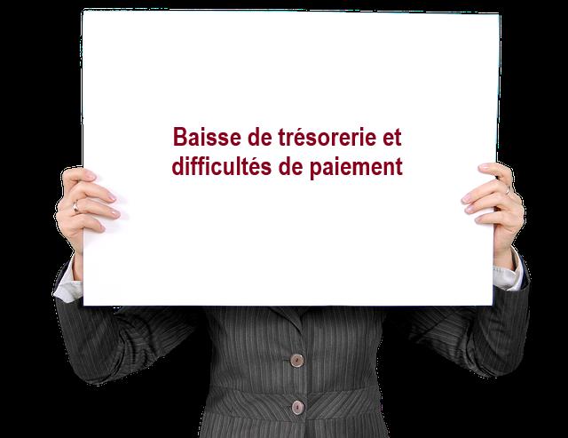 BAISSE DE TRESORERIE