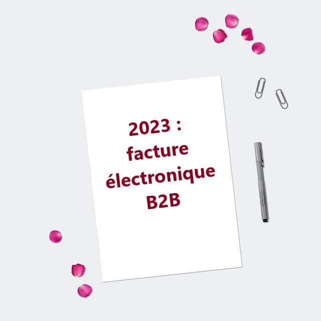2023 FACTURE ELECTRONIQUE B2B