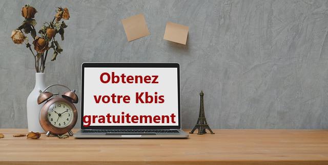 Kbis gratuit